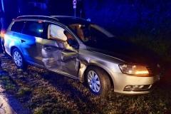 Der am Unfall beteiligte PKW.