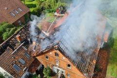 Das betroffene Gebäude.