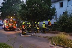 Am Samstagabend kam es zu einem Kellerbrand in der Jahnstraße.