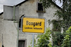 Ortsschild Bongard.