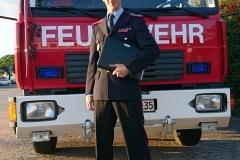 Die Uniform wird zu offiziellen Anlässen wie Jahreshauptversammlungen getragen.
