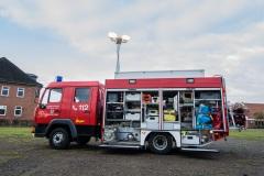 Gerätewagen Gefahrgut GW-G - Funkrufnahme 18-73-7