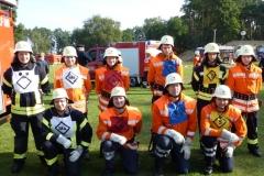 Teilnahme beim Landesvorentscheid in Woltersdorf 2012