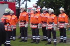Die erfolgreiche Gruppe vom Stadtwettbewerb 2007