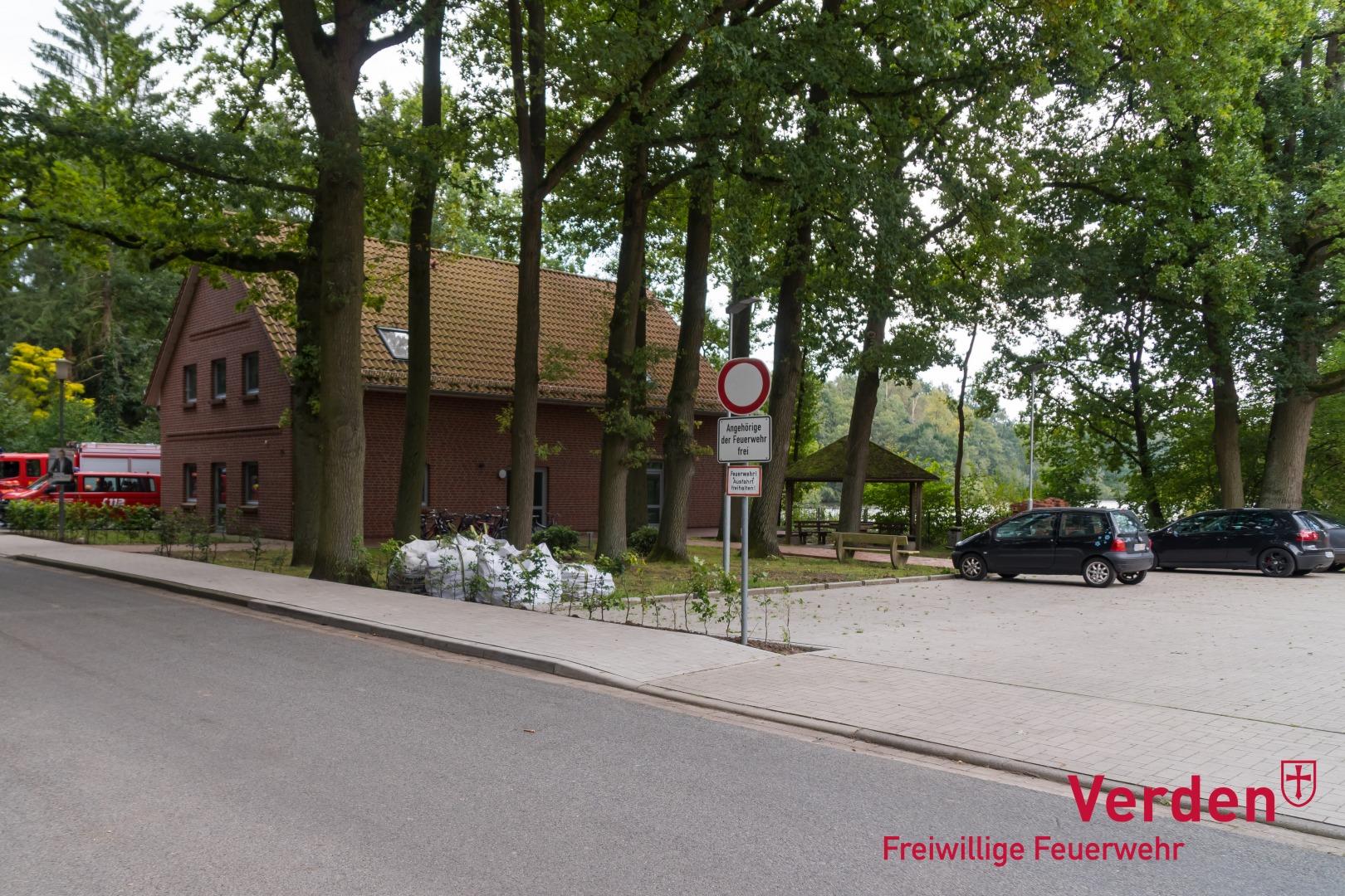 Feuerwehrhaus an der Eitzer Dorfstraße.