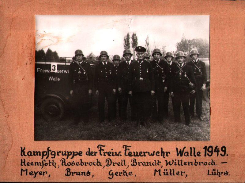 Die erfolgreiche Wettkampfgruppe der 1940er und 1950er
