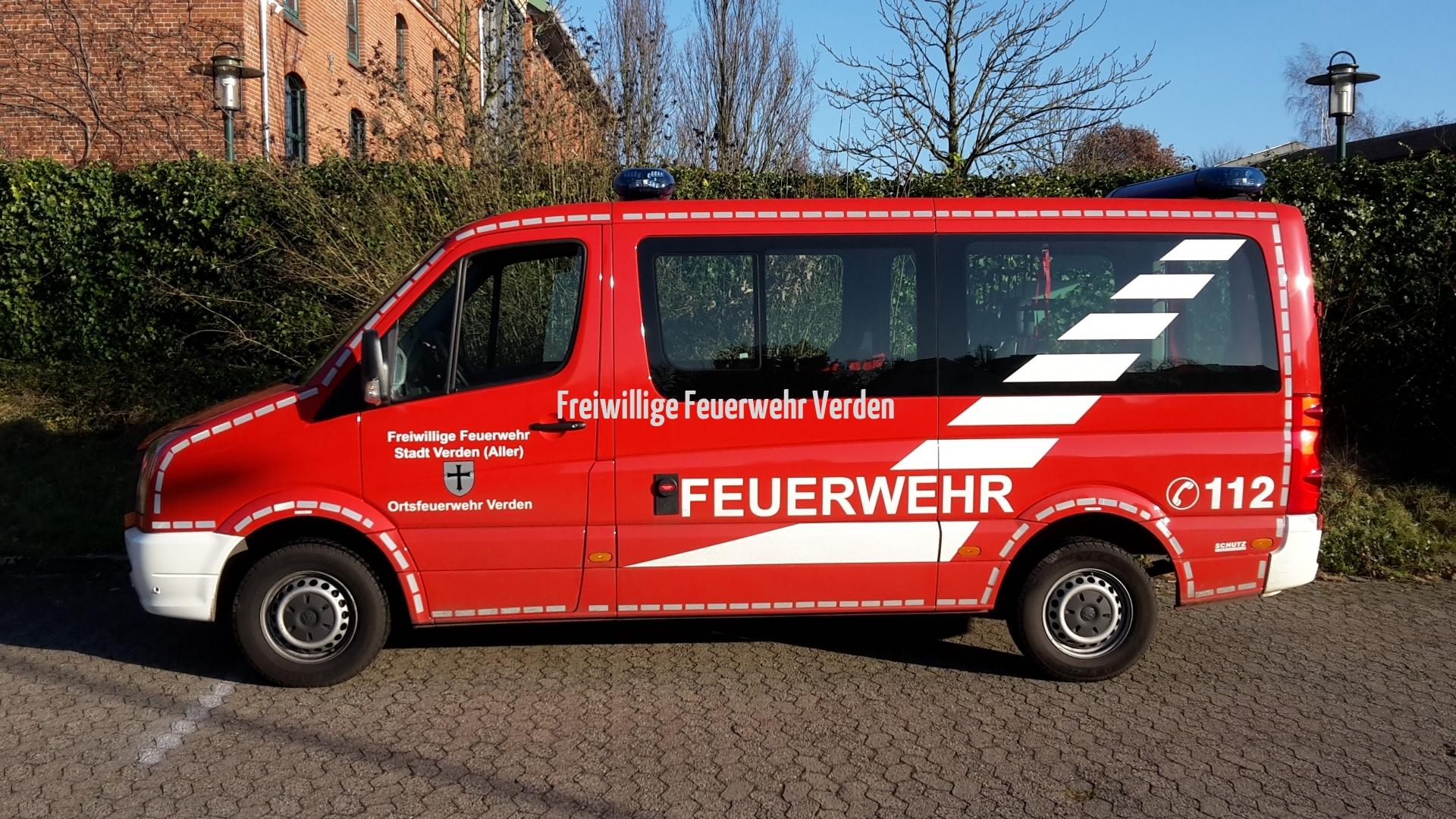 Mannschaftstransportwagen MTW - Funkrufname 18-17-7